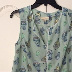 NWOT   ModCloth hot air balloon top